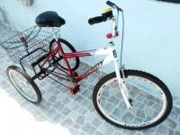 f0c1a1231 Vendo bicicleta triciclo adulto seminova em Bertioga em Bertioga
