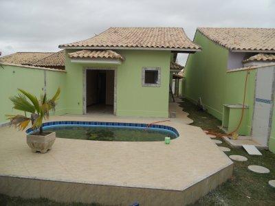 Imagens de casas baratas pela caixa 3qts com piscina e for Piscinas desmontables grandes baratas